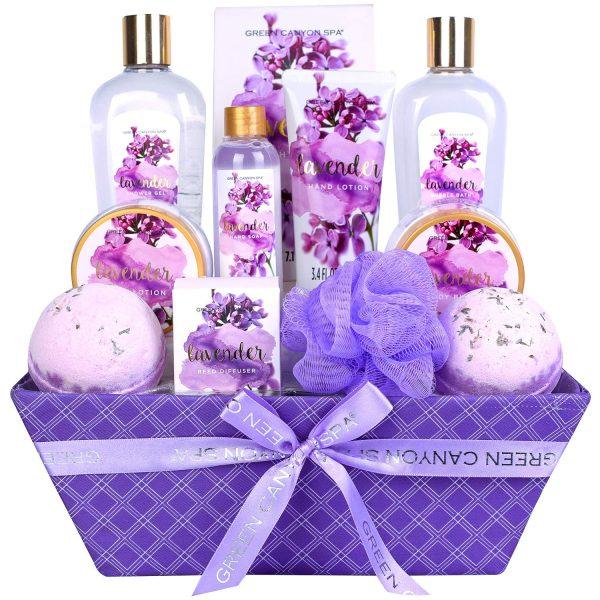 Luxury Lavender Gift Basket Set
