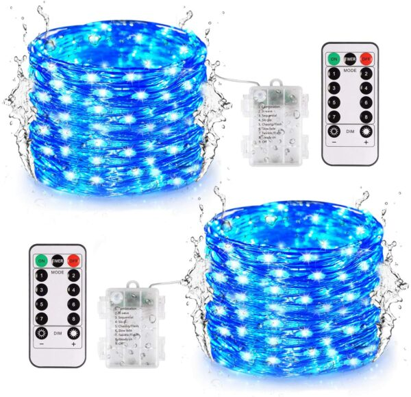 2 Pack Halloween String Lights