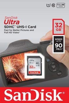 SanDisk 32GB Ultra SDHC
