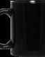 BM11OZ 11 oz. Black Mug