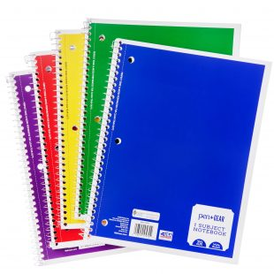 1-Subject Notebook, College Ruled, 70 Sheet