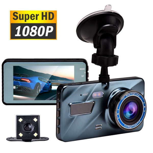 3 in 1 Rear View Dual Camera Full HD Night Vision Car Dash Camera